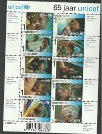 Nvph V2823/2832 Unicef 65 Jaar Postfris