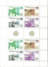 Nederlandse Antillen V1593/1596 Sociale en Culturele zegels 2005 Postfris