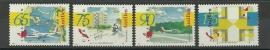 Nederlandse Antillen 1026/1029 Cultuur 1993 Postfris