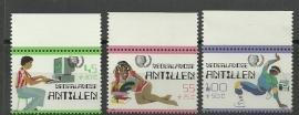 Nederlandse Antillen 810/812 Postfris