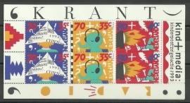 Nvph 1578 Kindervel 1993 Postfris