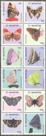 Sint Maarten 150/161 Vlinders 2013 Postfris