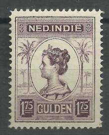 Nederlands Indië 133C 1¾ GLD Koningin Wilhelmina Postfris (2)