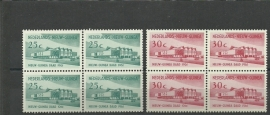 Nieuw Guinea 67/68 Nieuw-Guinea Raad Postfris (Blokken van 4)