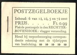 PZ 38-N 4 × 6 (Nvph 172/379/380/381) Roomkleurige Kaft (17)