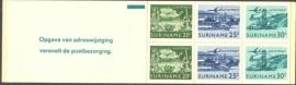 SR Postzegelboekje 2c Postfris