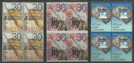 Nvph. 1064/1066 Jubileumzegels 1975 in Blokken Postfris