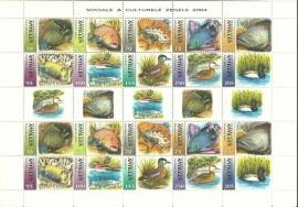 Nederlandse Antillen V1538/1547 Sociale en Culturele zegels 2004 Postfris