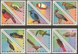 Suriname Republiek 1098/1109 Vogels 2001 Postfris
