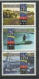 Aruba 444/446 65 jaar einde WW2 Postfris