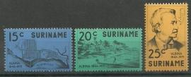 Suriname 574/576 Postfris