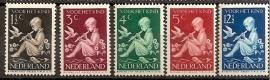 Nvph 313/317 Kinderzegels 1938 Postfris