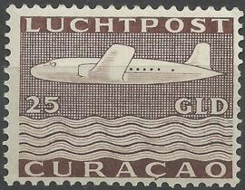 Luchtpost 88 25 Gld Vliegtuig Postfris (1)