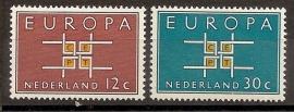 Nvph  800/801 Europa 1963 Postfris