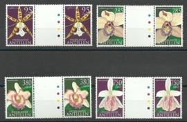 Nederlandse Antillen 1402a/1405a Flora 2002 Postfris (1)
