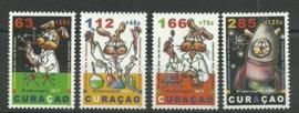 Curaçao Status Aparte  54/57 Kinderzegels 2011 Postfris