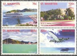 Sint Maarten 144/147 Landschappen 2013 Postfris