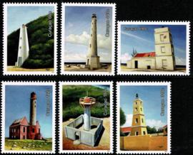 Curaçao Status Aparte 392/397 Vuurtorens 2018 Postfris