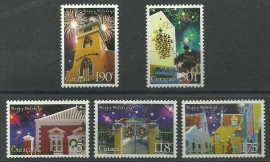 Curaçao Status Aparte 179/183 Decemberzegels 2013 Postfris