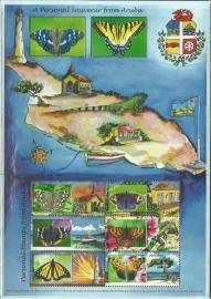 Aruba 468 Persoonlijke Postzegels 2009 Postfris
