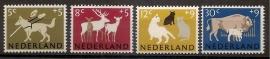 Nvph  812/815 Zomerzegels 1964 Postfris