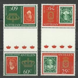 Nederlandse Antillen  654b/655b Postfris (3)