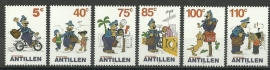 Nederlandse Antillen 1354/1359 Strippostzegels Postfris