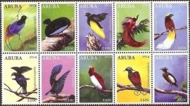 Aruba 750/759 Paradijsvogels 2014 Postfris