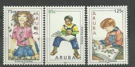 Aruba 352/354 Kinderzegels 2005 Postfris
