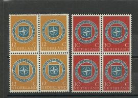 Nvph 720/721 Navozegels in Blokken Postfris