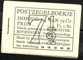 PZ 51-N 4 × 6 (Nvph 381) Roomkleurige Kaft (10)