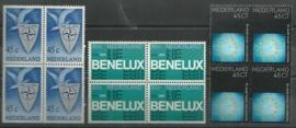 Nvph. 1055/1057 Gelegenheidszegels 1974 in Blokken Postfris