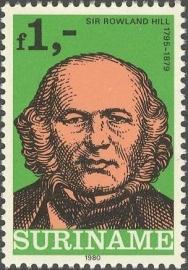 Suriname Republiek 208 Int. Postzegeltent. Londen 1980 Postfris