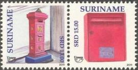 Suriname Republiek  1830/1831 UPAEP 2011 Postfris