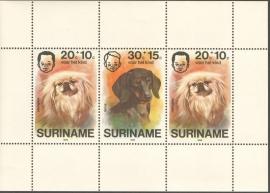 Suriname Republiek  48 Blok Kinderzegels 1976 Postfris