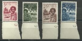 Nieuw Guinea 45/48 Kinderzegels Postfris