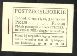 PZ 38-N 4 × 6 (Nvph 172/379/380/381) Roomkleurige Kaft (16)