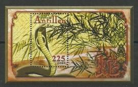 Nederlandse Antillen 1337 Blok Chinees Nieuwjaar 2001 Postfris