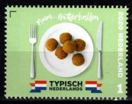 """Nvph 3848  """"Typisch Nederlands"""" - Bitterballen 2020 Postfris"""