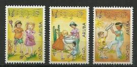 Aruba 324/326 Kinderzegels 2004 Postfris