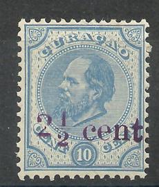 Curacao  24 Hulpzegel Postfris (1)