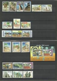 Complete Jaargang Aruba 1999 Postfris
