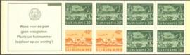 SR Postzegelboekje 3bp Postfris