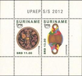 Suriname Republiek  1926 Blok UPAEP 2012 Postfris