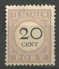 Suriname P 12fb 20ct Type I Ongebruikt (1)