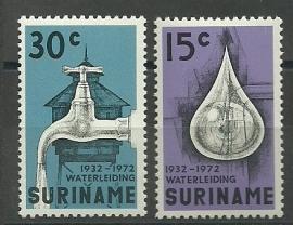 Suriname 577/578 Postfris