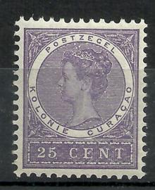 Curacao  39 25ct  Koningin Wilhelmina Veth Postfris (1)
