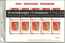 Toonbankverpakking Nvph 2619a 3FM Serious Request Postfris en Ongeopend