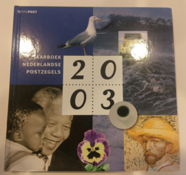 Jaarboek 2003 Inclusief alle postzegels & vellen Postfris