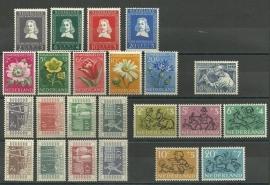 Complete jaargang 1952 Postfris